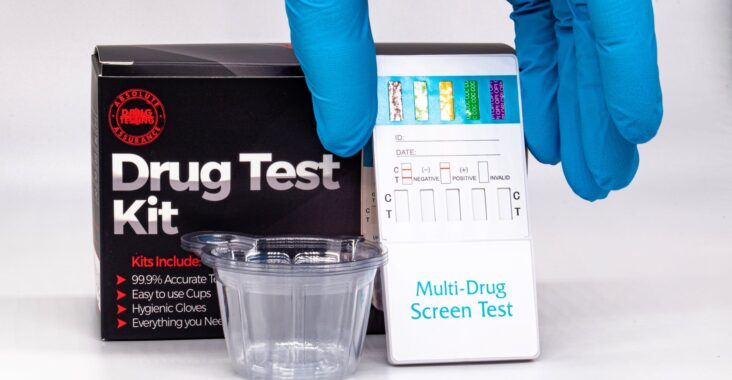 multi drug screen test and kit boxes